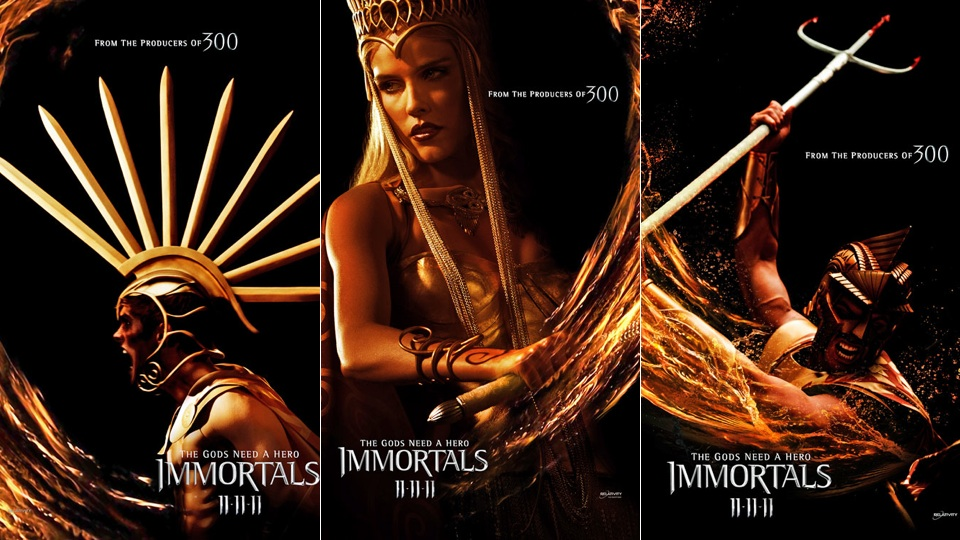 Immortals Movie Cast Movie Review Immortals