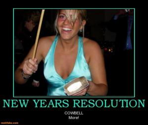 Definitely a resolution I can get behind! (no perviness intended!)