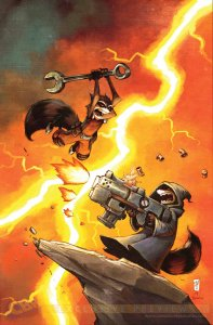 Rocket Awaaaaay!!! Skottie Young is the perfect guy to have this job!