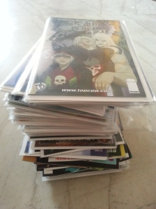 Image Comics' primary pile!