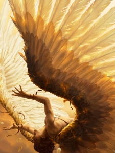 The fall of Icarus by René Milot