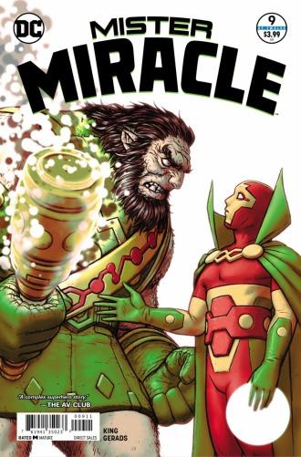 Mister Miracle #9 (Art: Nick Derington)