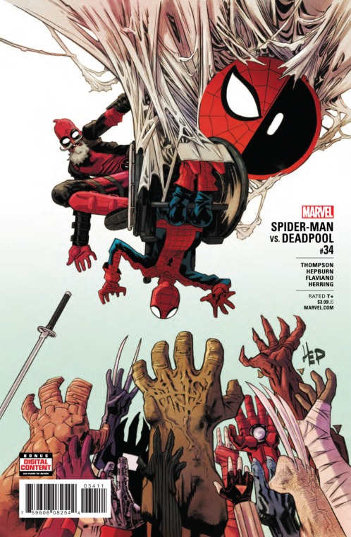 Spider-Man/Deadpool #34 (Art: Ian Herring)