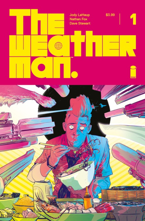 The Weather Man #1 (Art: Nathan Fox)