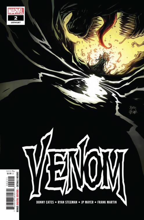 Venom #2 (Art: Ryan Stegman and Frank Martin)